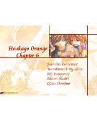 Houkago Orange 6 Volume No. 6 by Kyoko, Kumagai