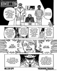 Hunter X Hunter 329 : Spy Volume No. 329 by Togashi, Yoshihiro