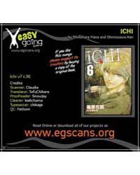 Ichi 36: Unyielding Determination Volume No. 36 by Kan, Shimozawa