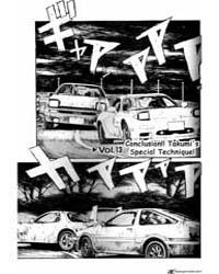 Initial D 13: Conclusion!! Takumi's Spec... Volume Vol. 13 by Shigeno, Shuichi