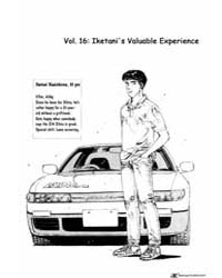 Initial D 16: Iketani's Valuable Experie... Volume Vol. 16 by Shigeno, Shuichi