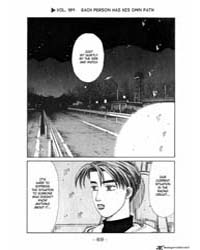 Initial D 189: Each Person Has His Own P... Volume Vol. 189 by Shigeno, Shuichi