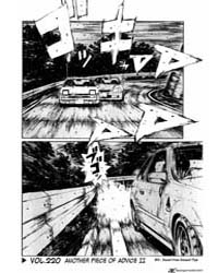 Initial D 220: Another Piece of Advice I... Volume Vol. 220 by Shigeno, Shuichi