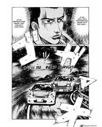 Initial D 252: Blind Pursuit Volume Vol. 252 by Shigeno, Shuichi