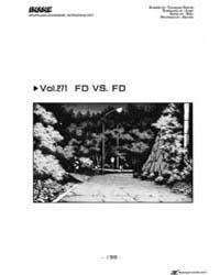 Initial D 271: Fd Vs Fd Volume Vol. 271 by Shigeno, Shuichi