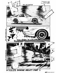 Initial D 279: the Ability to Awaken II Volume Vol. 279 by Shigeno, Shuichi
