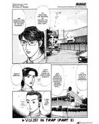 Initial D 287: Trapping the Hachi Roku I... Volume Vol. 287 by Shigeno, Shuichi