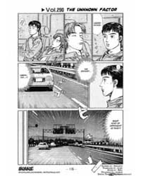Initial D 290: the Unknow Factor Volume Vol. 290 by Shigeno, Shuichi