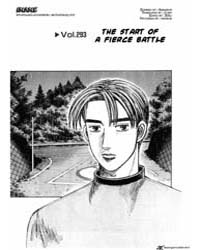 Initial D 293: the Start of a Fierce Bat... Volume Vol. 293 by Shigeno, Shuichi