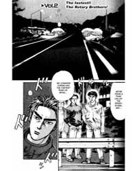 Initial D 2: the Fastest!! the Rotary Br... Volume Vol. 2 by Shigeno, Shuichi