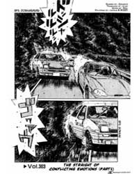 Initial D 303: the Staright Away of Conf... Volume Vol. 303 by Shigeno, Shuichi