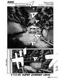 Initial D 305: Supercharged Levin Part 1 Volume Vol. 305 by Shigeno, Shuichi