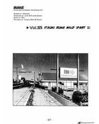 Initial D 325: Itsuki Runs Wild Part 2 Volume Vol. 325 by Shigeno, Shuichi