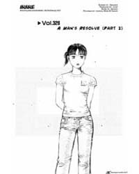 Initial D 328: a Man's Resolve Part 2 Volume Vol. 328 by Shigeno, Shuichi