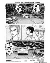 Initial D 338: a Huge Cost Volume Vol. 338 by Shigeno, Shuichi