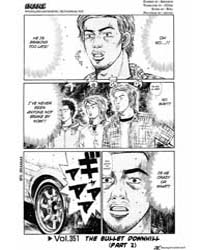 Initial D 351: the Bullet Downhill Part ... Volume Vol. 351 by Shigeno, Shuichi