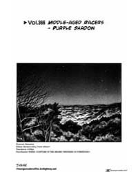Initial D 366: Middle Aged Racers Purple... Volume Vol. 366 by Shigeno, Shuichi