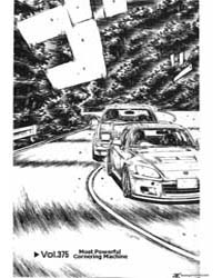 Initial D 375: Most Powerful Cornering M... Volume Vol. 375 by Shigeno, Shuichi