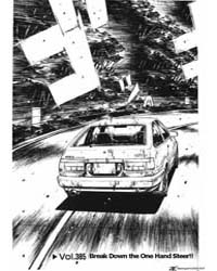 Initial D 385: Break Down the One Hand S... Volume Vol. 385 by Shigeno, Shuichi