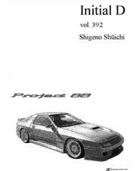 Initial D 392: Critical Point Part 1 Volume Vol. 392 by Shigeno, Shuichi