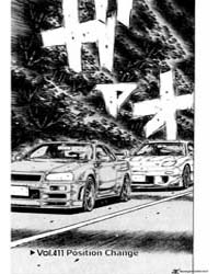 Initial D 411: Position Change Part 1 Volume Vol. 411 by Shigeno, Shuichi