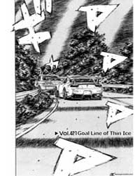 Initial D 421: Goal Line of Thin Ice Volume Vol. 421 by Shigeno, Shuichi