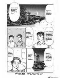 Initial D 434: the Real Drift Part 1 Volume Vol. 434 by Shigeno, Shuichi