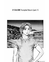Initial D 538: Triumphal Return 1 Volume Vol. 538 by Shigeno, Shuichi