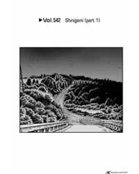 Initial D 542: Shinigami 1 Volume Vol. 542 by Shigeno, Shuichi