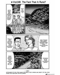 Initial D 549: the Fact That it Runs Volume Vol. 549 by Shigeno, Shuichi