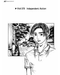 Initial D 579: Independent Action Volume Vol. 579 by Shigeno, Shuichi
