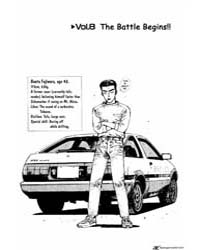 Initial D 8: the Battle Begins!! Volume Vol. 8 by Shigeno, Shuichi
