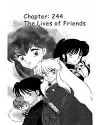 Inuyasha 244 : the Lives of Friends Volume Vol. 244 by Takahashi, Rumiko