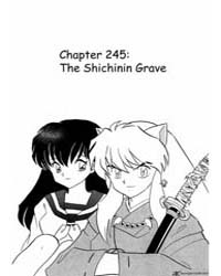 Inuyasha 245 : the Shichinin Grave Volume Vol. 245 by Takahashi, Rumiko