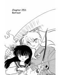 Inuyasha 253 : Retreat Volume Vol. 253 by Takahashi, Rumiko