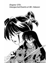 Inuyasha 270 : Unexpected Events at Mt H... Volume Vol. 270 by Takahashi, Rumiko