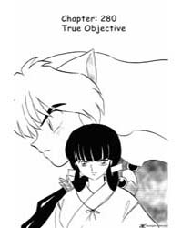 Inuyasha 280 : True Objective Volume Vol. 280 by Takahashi, Rumiko