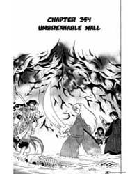 Inuyasha 354 : Unbreakable Wall Volume Vol. 354 by Takahashi, Rumiko