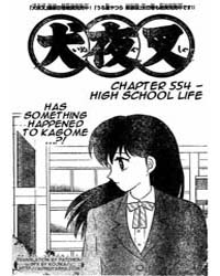 Inuyasha 554 : High School Life Volume Vol. 554 by Takahashi, Rumiko