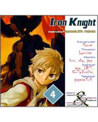 Iron Knight 4: the Iron Ruler Volume No. 4 by Tomohiro, Yagi