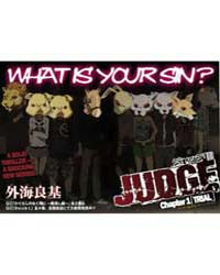 Judge 1 Volume Vol. 1 by Yoshiki, Tonogai