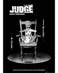 Judge 2: Imprisonment Volume Vol. 2 by Yoshiki, Tonogai