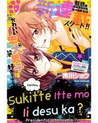 Kaichou, Suki Tte Itte Mo II Desu Ka 1 Volume No. 1 by Shou, Ichikawa