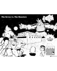Kinnikuman 89 : the Seven Vs the Monster... Volume Vol. 89 by Yudetamago