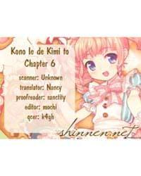 Kono Ie De Kimi to 6 Volume Vol. 6 by Hazuki, Megumi