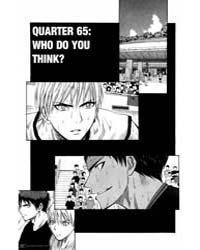 Kuroko No Basket 65: Who Do You Think Volume Vol. 65 by Fujimaki, Tadatoshi