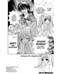 Love Monster 4 Volume Vol. 4 by Miyagi, Riko