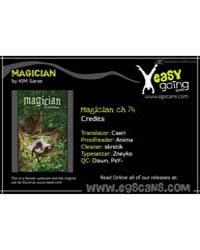 Magician 74 Volume Vol. 74 by Sarae, Kim