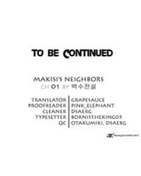 Makisi's Neighbours 1 Volume No. 1 by Ttang16