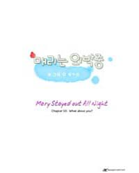 Mary Stayed Out All Night 10: What About... Volume Vol. 10 by Yeon, Won Soo